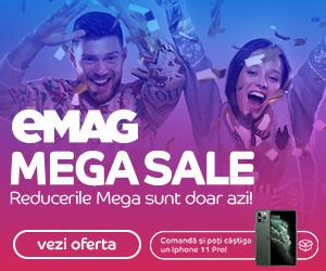 Campanie de reduceri Mega Sale 27 decembrie 2019
