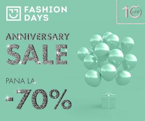 Campanie de reduceri Anniversary Sale - refresh