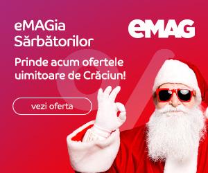 Campanie de reduceri eMAGia Crazy Days