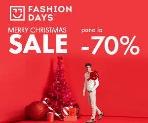 Campanie de reduceri Merry Christmas Sale - pana la 70% reducere la articolele pentru barbati (refresh)