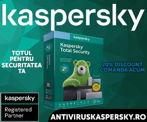 Campanie de reduceri Kaspersky Total Security Multi Device - 20% Discount