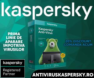 Campanie de reduceri Kaspersky Antivirus - 20% Discount