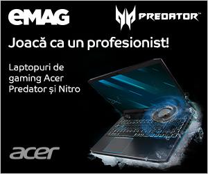 Campanie de reduceri Laptopuri Acer gaming eMAGIA, 09- 23.12.2019