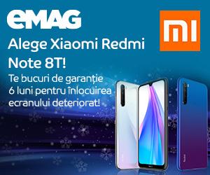 Campanie de reduceri Campanie Xiaomi garantie ecran