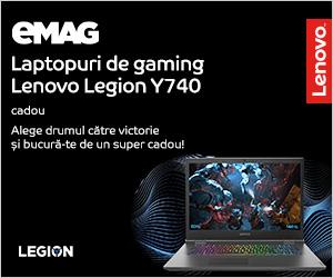 Campanie de reduceri Laptopuri Lenovo Y740 - cadou accesorii gaming, 19- 31.12.2019