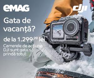 Campanie de reduceri Camere video sport DJI Osmo