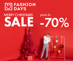 Campanie de reduceri Merry Christmas Sale - pana la -70% la articolele pentru femei (refresh)