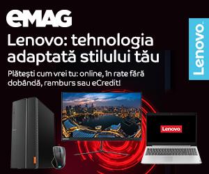 Campanie de reduceri Lenovo all brand, 06- 12.01.2020