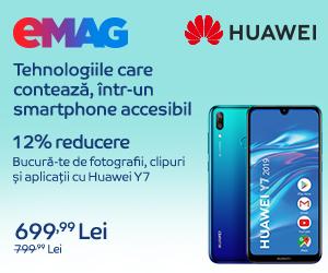 Campanie de reduceri Campanie Huawei Y7 2019