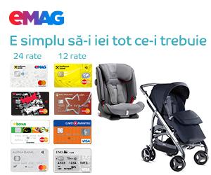 Campanie de reduceri Campanie plata in rate - produse copii