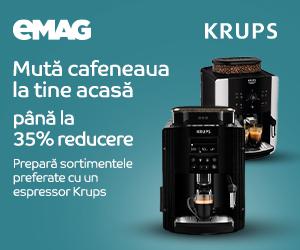 Campanie de reduceri Campanie Espressoare Krups