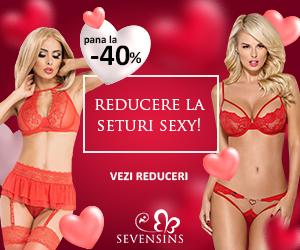 Campanie de reduceri  Ziua indragostitilor se apropie! Ai reduceri de pana la 45% la seturi sexy!