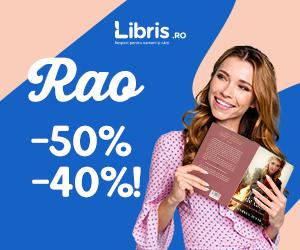 Campanie de reduceri -50% -40% la TOATE titlurile RAO