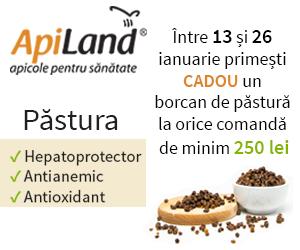 Campanie de reduceri Detoxifiere naturală cu păstura de albine ApiLand