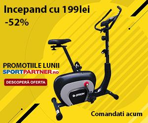Campanie de reduceri Promotiile lunii - biciclete fitness