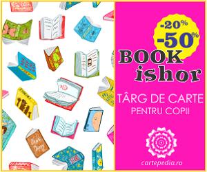 Campanie de reduceri BOOKishor - Târg de carte pentru copii