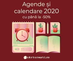Campanie de reduceri AGENDE SI CALENDARE 2020 CU PANA LA -50%