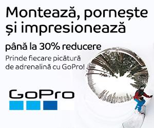 Campanie de reduceri Camere video sport GoPro