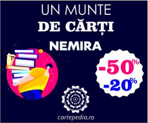 Campanie de reduceri Un munte de cărți Nemira