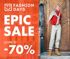 Campanie de reduceri Epic Sale - pana la 70% reducere la articolele pentru femei