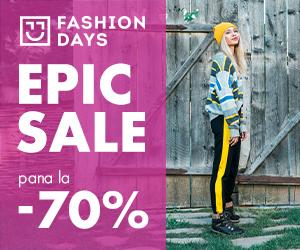 Campanie de reduceri Epic Sale - 70% reducere la articolele pentru femei (refresh)