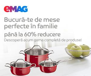Campanie de reduceri Pana la 60% reducere la articolele pentru gatit, 04- 16.02.2020
