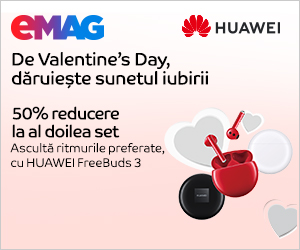 Campanie de reduceri Campanie Huawei FreeBuds