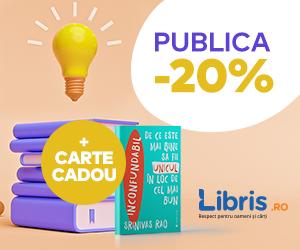 Campanie de reduceri PUBLICA -20% + Carte Cadou!