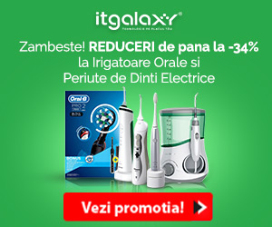Campanie de reduceri Zambeste! REDUCERI de pana la -34% la Irigatoare Orale si Periute de Dinti Electrice