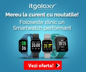 Campanie de reduceri Mereu la curent cu noutatile! Foloseste zilnic un Smartwatch performant