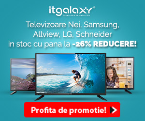 Campanie de reduceri Televizoare Nei, Samsung, Allview, LG, Schneider in stoc cu pana la -26% REDUCERE!