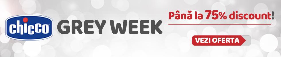 Campanie de reduceri Grey Week www.chicco.ro 5-11 februarie, pana la -75%!
