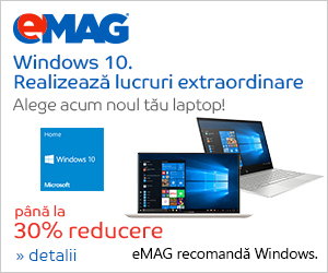 Campanie de reduceri Campanie  Laptopuri cu Windows