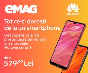 Campanie de reduceri Campanie Huawei seria Y