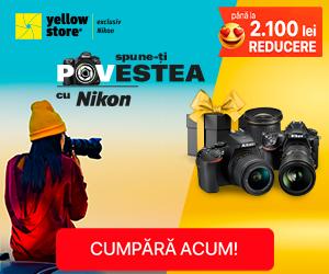 Campanie de reduceri Spune-ti povestea cu Nikon!