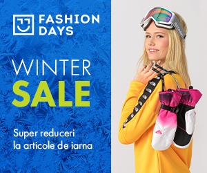 Campanie de reduceri Winter Sale - reduceri semnificative la articolele pentru femei