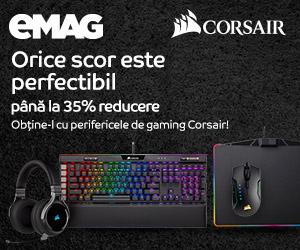 Campanie de reduceri Periferice gaming Corsair
