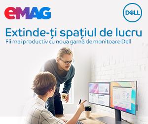 Campanie de reduceri Monitoare Dell- gama noua