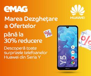 Campanie de reduceri Campanie Huawei Y series