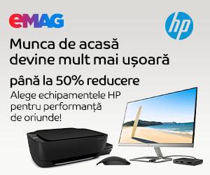 Campanie de reduceri HP - Work from home