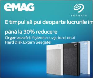Campanie de reduceri HDD extern Seagate (BUP ultra touch)