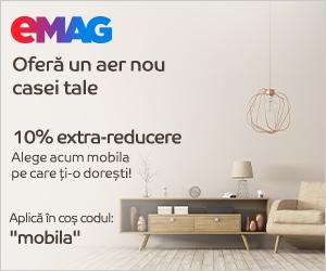 Campanie de reduceri Mobilier divers- noutate- 10% extra reducere, 01- 30.04.2020