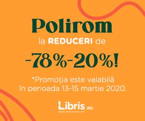 Campanie de reduceri Polirom cu -78% -20% pentru coltul tau tihnit.