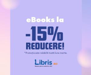 Campanie de reduceri eBooks la -15%! Peste 2000 de carti la un click distanta!