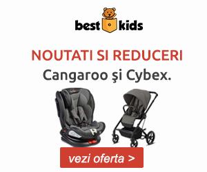 Campanie de reduceri Profita de noutatile Cangaroo si Cybex. Nu rata reducerile speciale!
