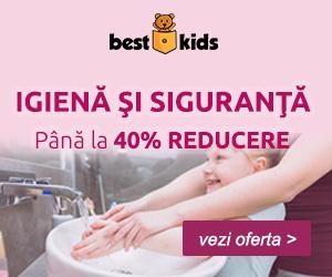 Campanie de reduceri Pentru santatea ta si a familei tale. 40% reducere la articole de Igiena