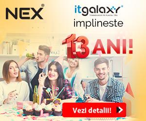 Campanie de reduceri TOMBOLA NEX - ITGALAXY IMPLINESTE 13 ANI!