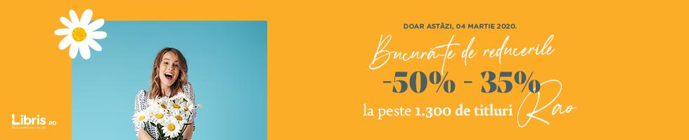 Campanie de reduceri Doar 24h! -50%- 35% la TOATE* titlurile RAO!