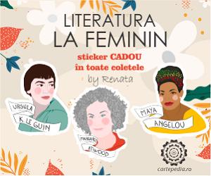 Campanie de reduceri Literatura la feminin È™i stickere cadou!