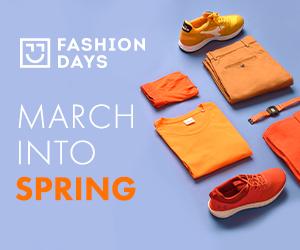 Campanie de reduceri March into Spring - reduceri la articolele pentru barbati
